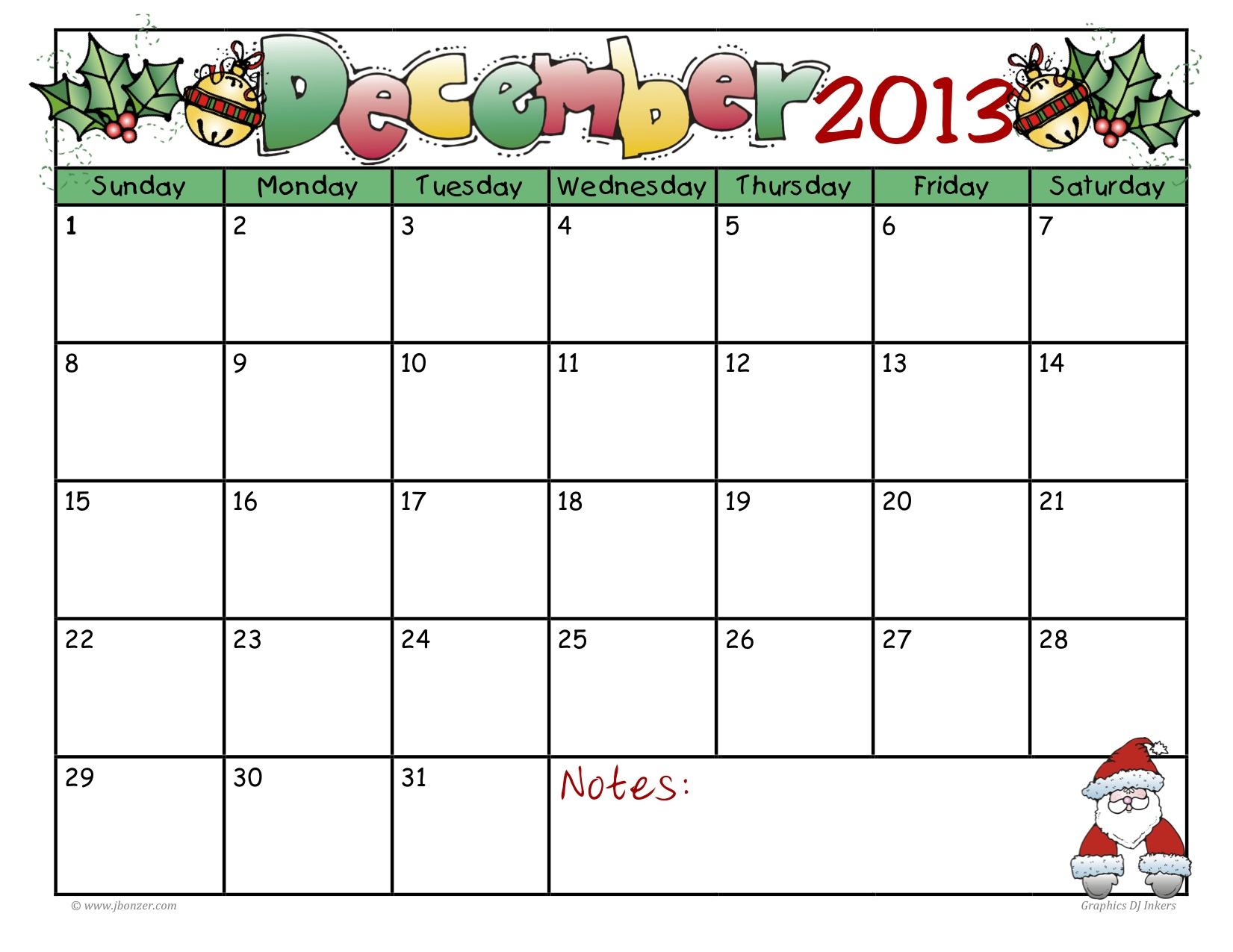 ... jpeg 272kB, Blank Editable Dec 2013 Calendar | Calendar Template 2016