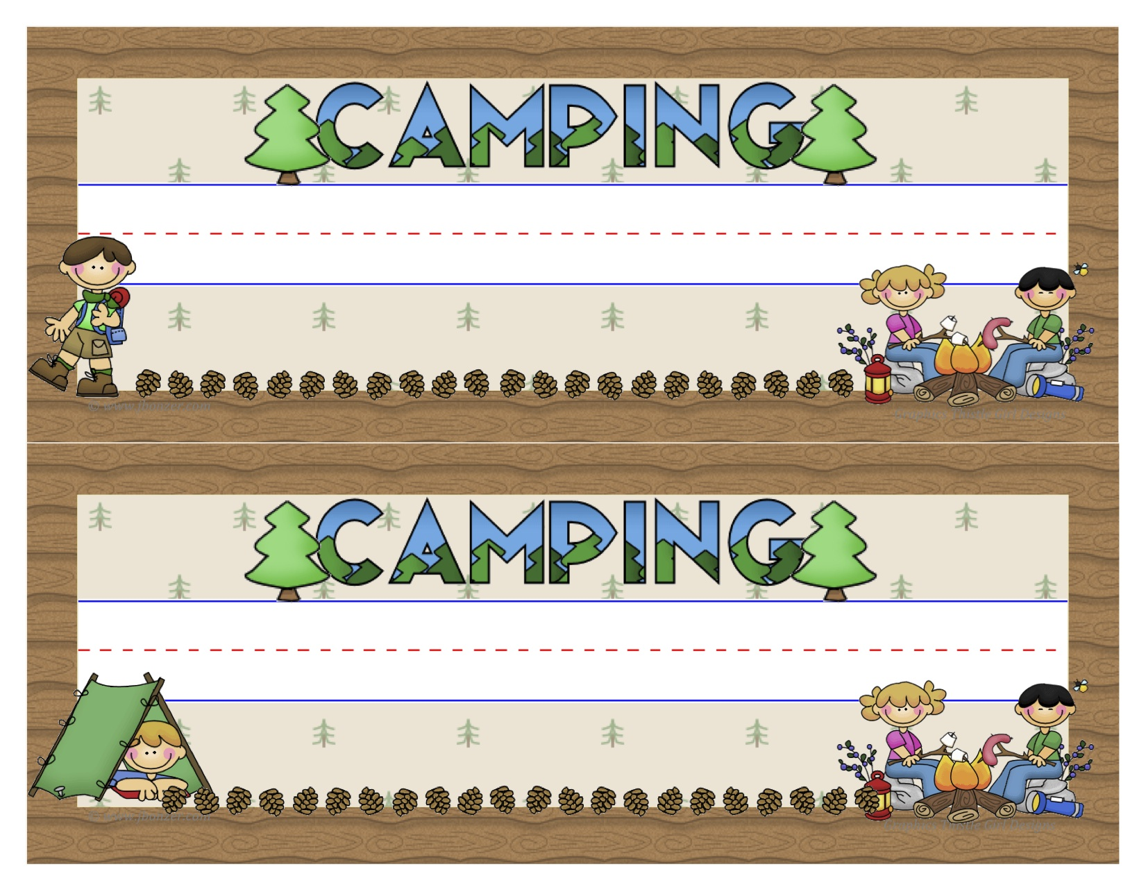 Summer Camp Classroom Decorations ~ Images about summer camp on pinterest fonts
