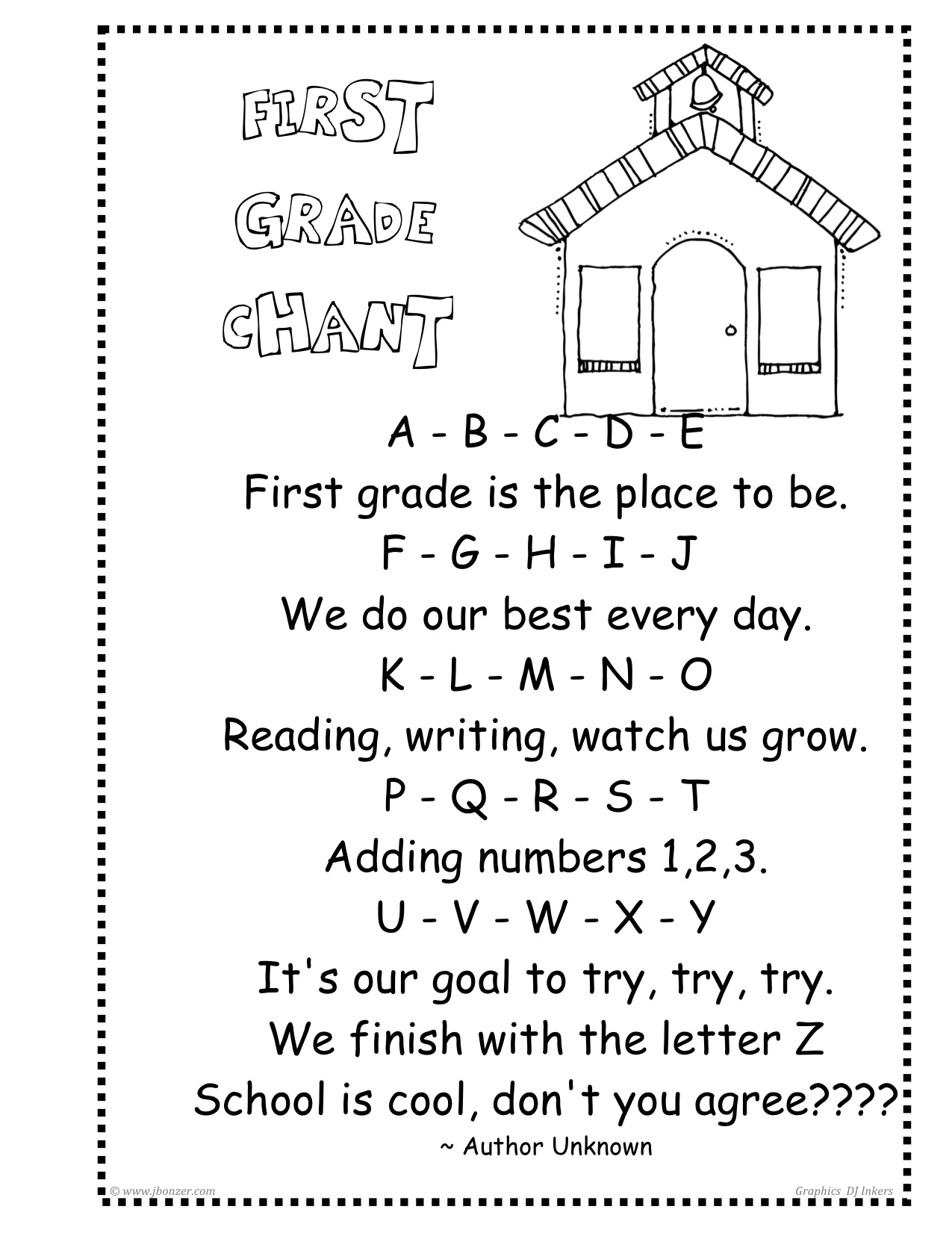 Pics Photos - Poems About First Grade Teachers
