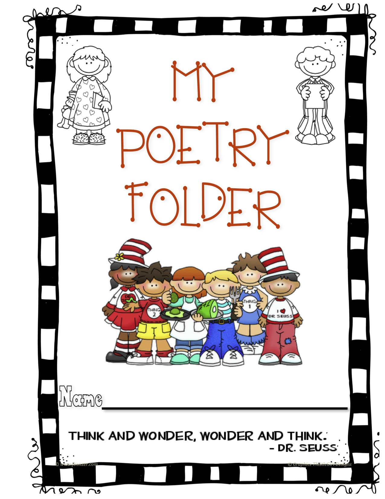 Dr Seuss Poetry Folder 2