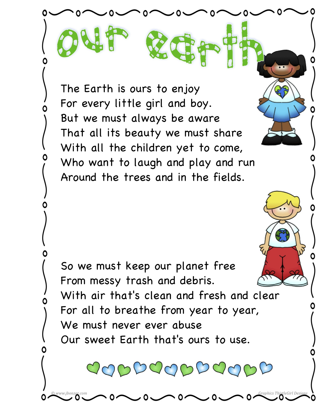 earth day poems for kids - photo #24