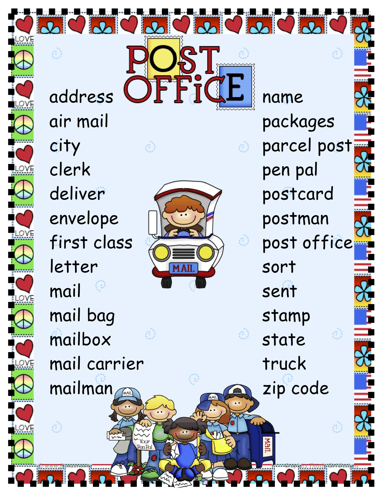 Free post office resources for schools